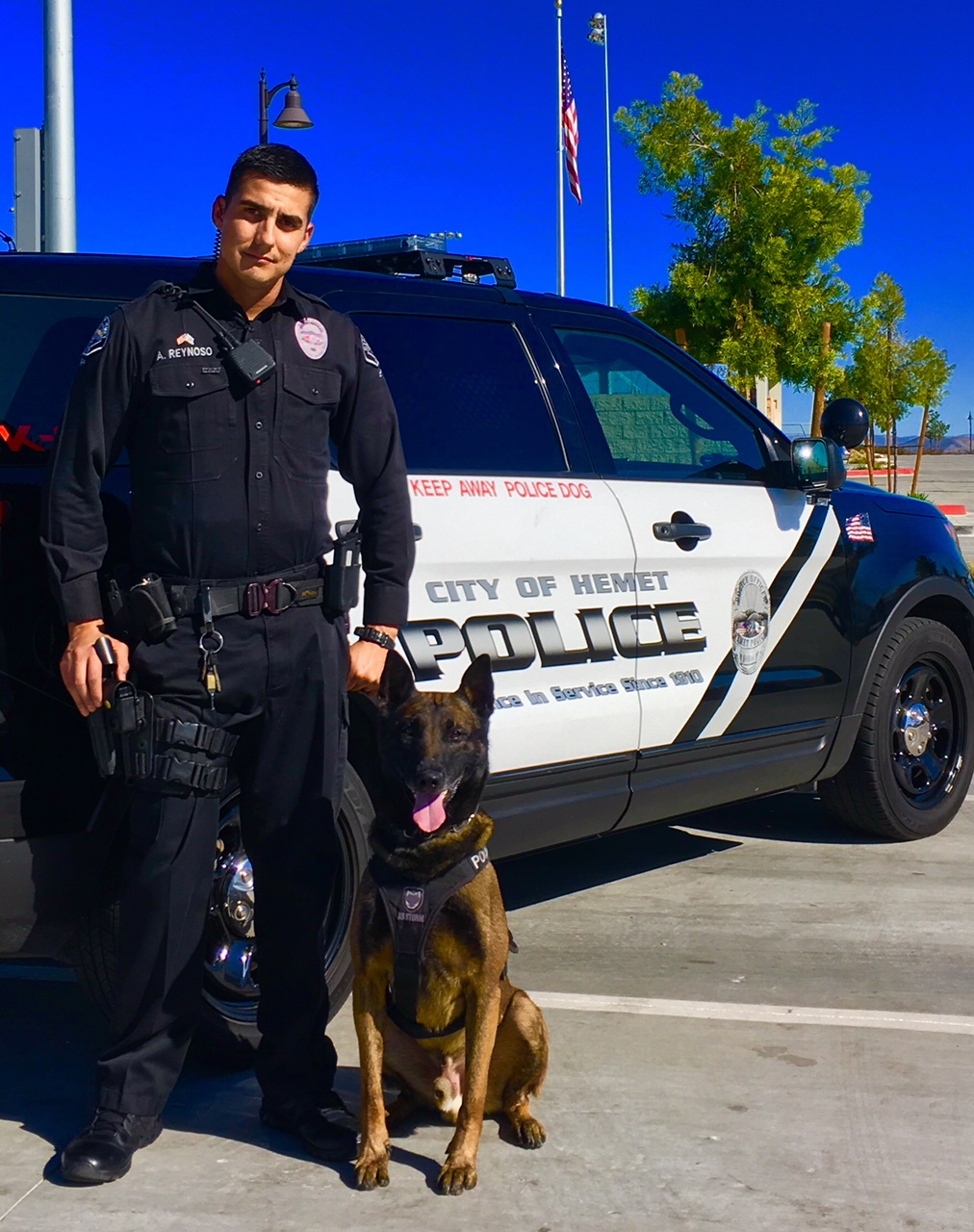 Reynoso and Duke Hemet Police