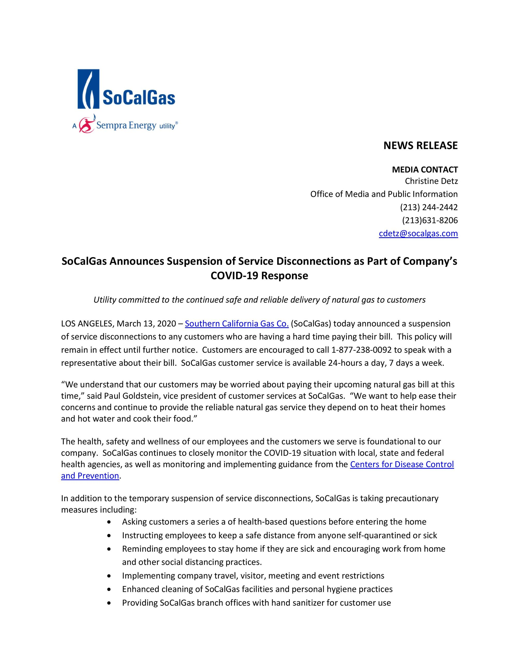 socalgas suspension Opens in new window
