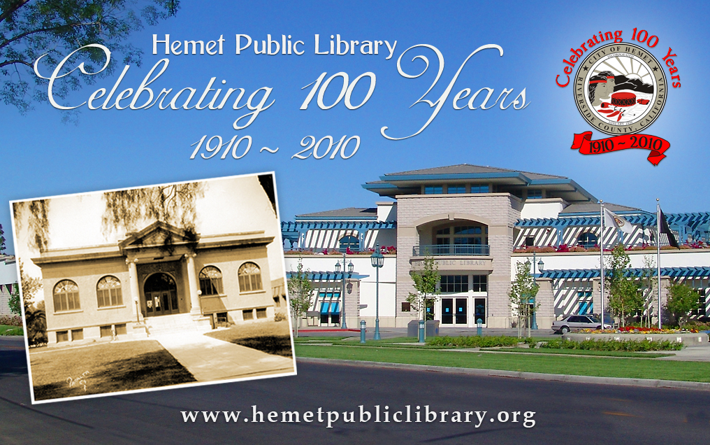 Hemet Library Card Opens in new window