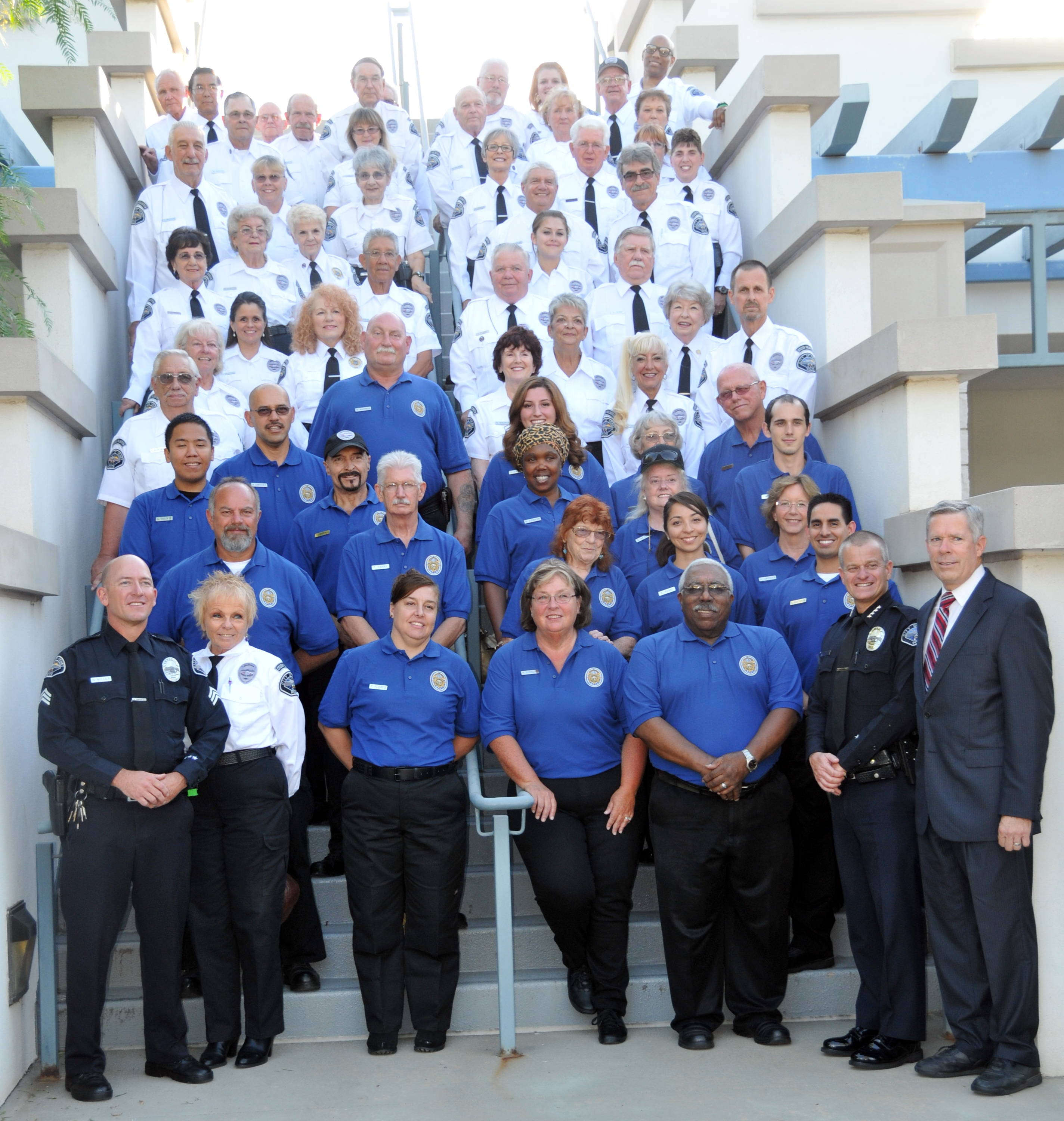 Hemet Police Volunteers 2013