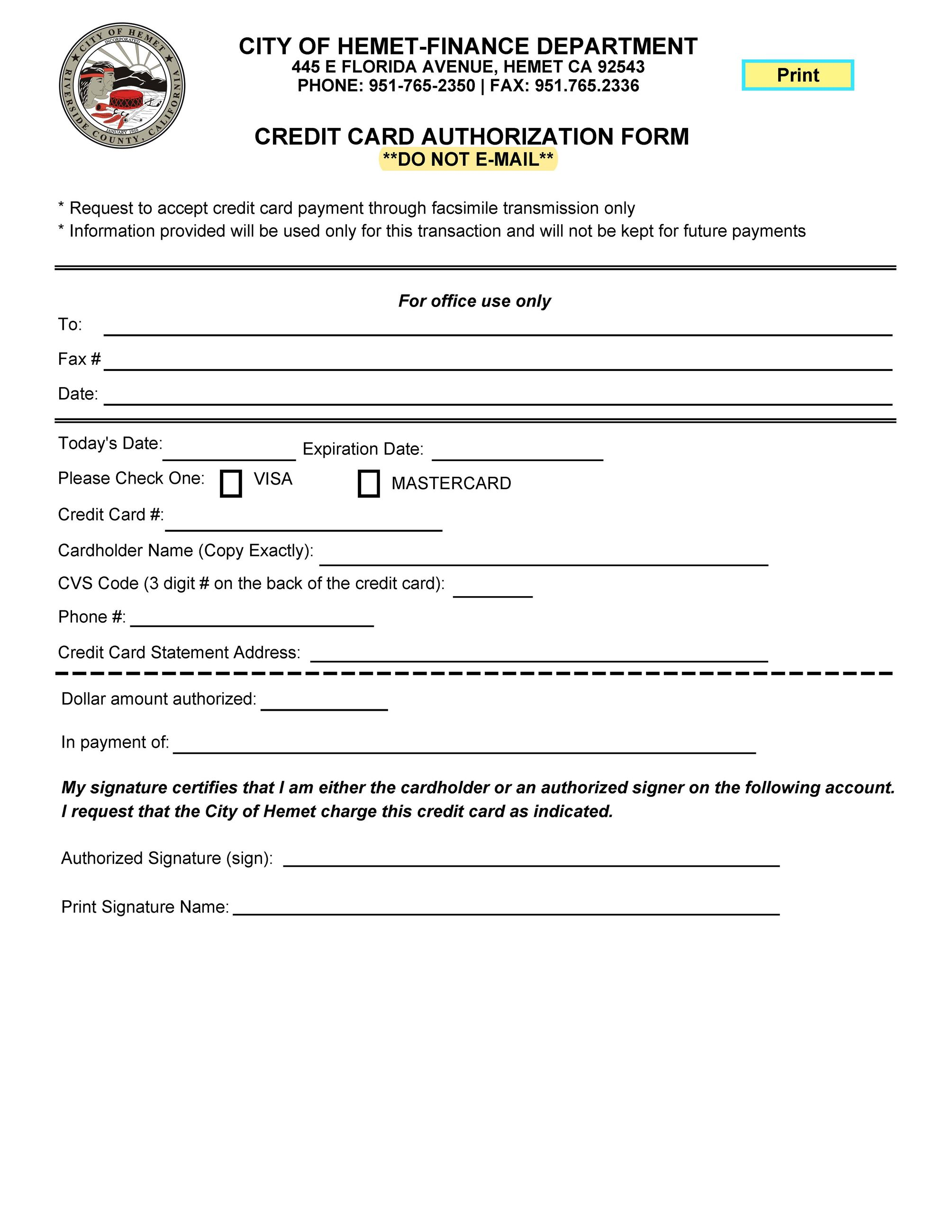FAX_CREDIT CARD AUTHORIZATION FORM_3-18-21