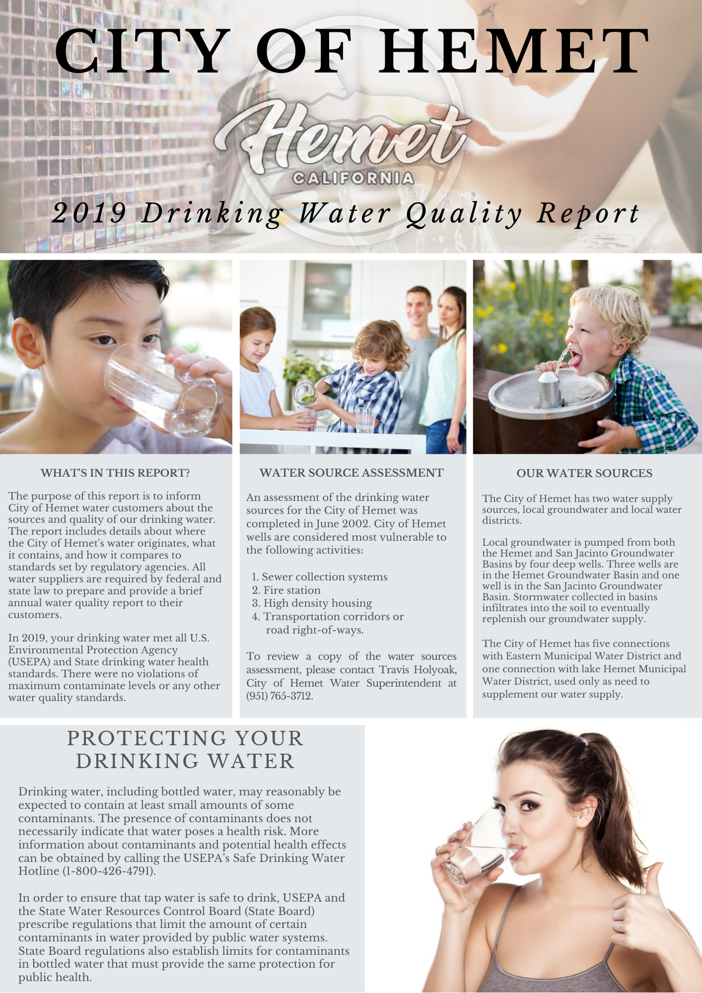 2019 CCR REPORT FRONT PAGE